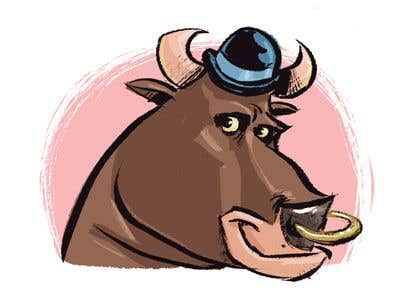 Contest Entry #61 for bull caricature