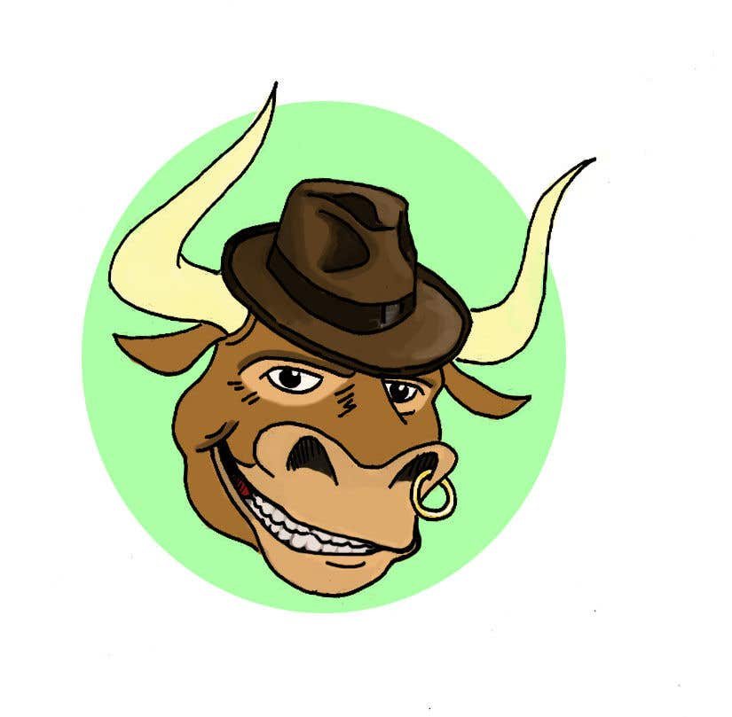 Contest Entry #68 for bull caricature