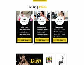 #16 for Joomla template for fitness center client by rezaulislam80