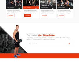 #9 for Joomla template for fitness center client by saidesigner87