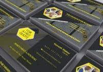 Graphic Design Kilpailutyö #13 kilpailuun design double sided business cards - construction