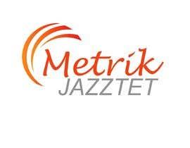#337 pentru Metrik Jazztet Logo de către aqibali087