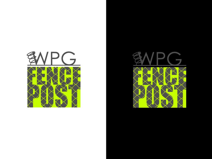 #9 for Logo Design for Winnipeg Fence Post by simomile85