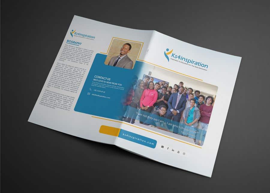 Penyertaan Peraduan #23 untuk Logo Design - Company Brochure Design - Speaker One Sheet update