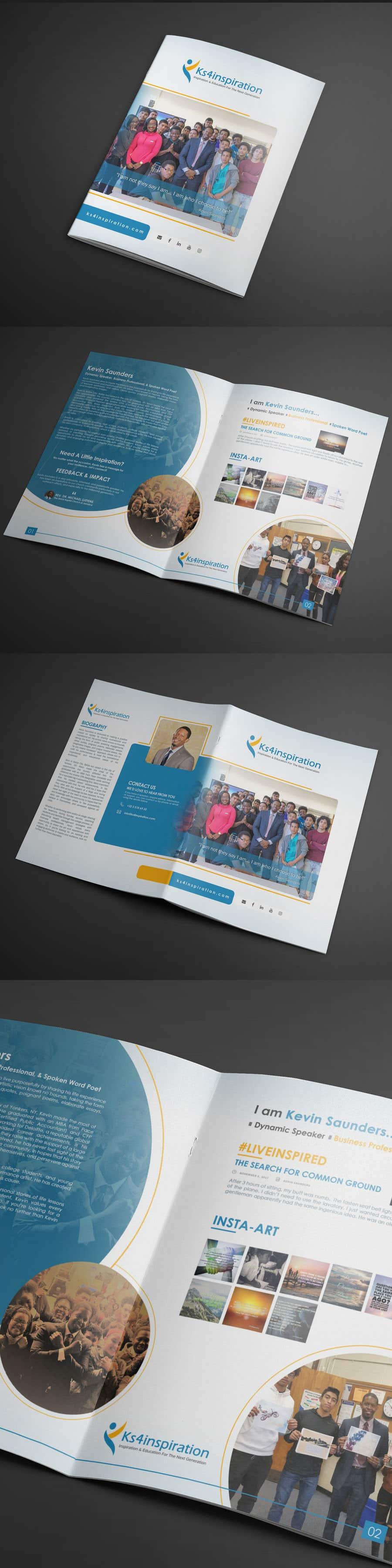 Contest Entry #24 for Logo Design - Company Brochure Design - Speaker One Sheet update