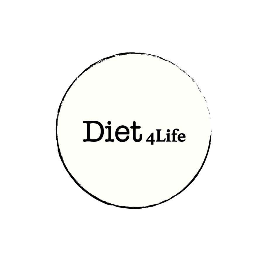 "Intrarea #49 pentru concursul ""We need a logo for our company «Diet4Life»"""