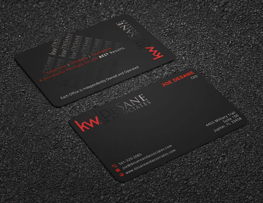 Contest Entry #413 for Modern Business Card Design