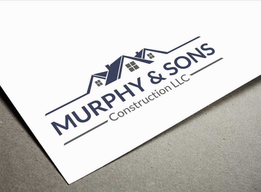Bài tham dự cuộc thi #                                        13                                      cho                                         Design a Logo for Murphy & Sons Construction LLC