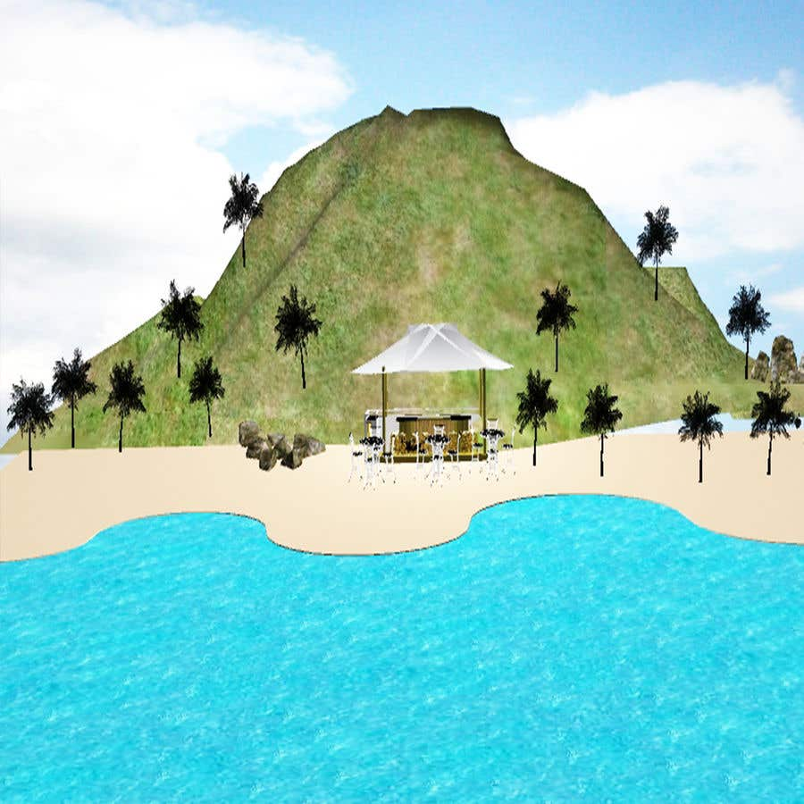 Entry #6 by TheresaSuen for Tropical beach scene in Unity3D | Freelancer