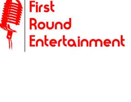 #6 untuk Logo for First Round Entertainment  Detroit fist with microphone in hand and have first round on top and entertainment on bottom oleh darkavdark