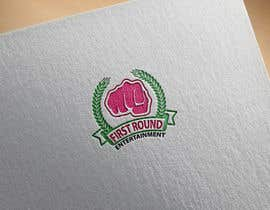 #17 untuk Logo for First Round Entertainment  Detroit fist with microphone in hand and have first round on top and entertainment on bottom oleh masudkhan8850