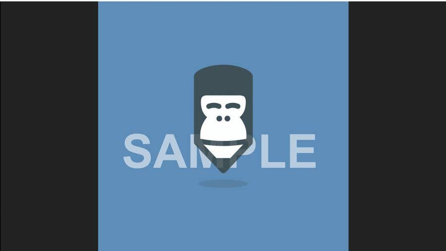 "Intrarea #27 pentru concursul ""Let the gorilla in our logo wink (in GIF)"""