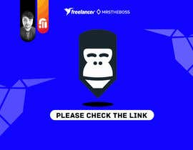 #28 pentru Let the gorilla in our logo wink (in GIF) de către mrstheboss