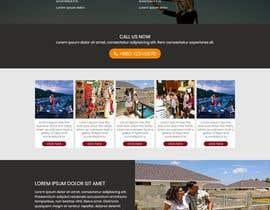 #13 untuk Website Design & Layout - 2 Page Design oleh forhat990