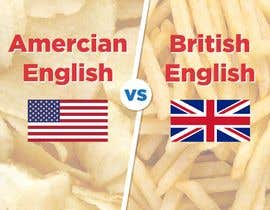 TheDesigner5 tarafından Inforgraphics Design for American English Vs British English Feb 2019 için no 2