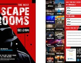 #28 para Design A6 flyer for an escape room review website por Igniter11