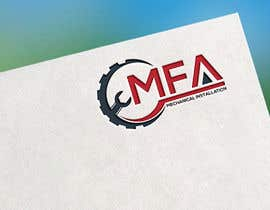 "#74 I need a logo design for ""MFA"" with underneath the logo ""Mechanical Installation "" részére motorhead141697 által"