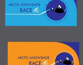 #25 for Arctic Snowshoe Race: design for beach flag/banner af Saif2483