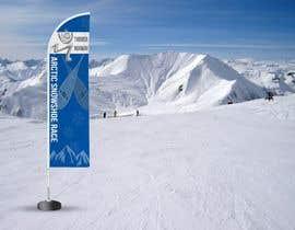 #34 for Arctic Snowshoe Race: design for beach flag/banner af badriaabuemara