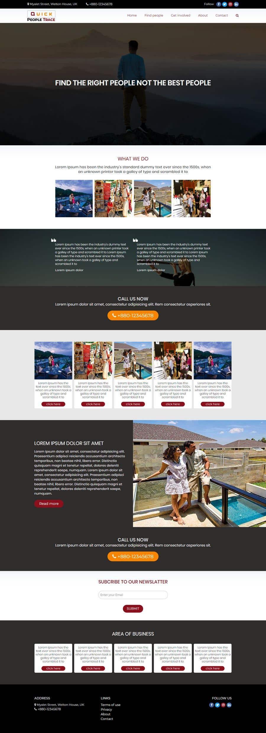 Contest Entry #1 for Design A Website - Easy money