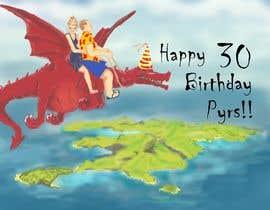 #12 for Cartoon Birthday Design af betaniaribeiro