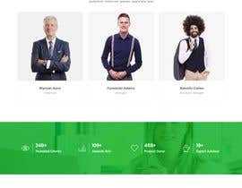 nº 25 pour Website for Consulting company par tajenul