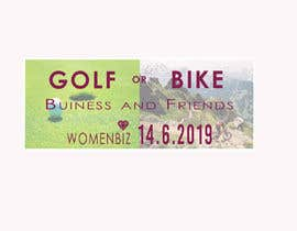 #21 untuk Design Logo Golf or Bike Event oleh kainatfreelancer