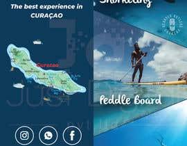 #5 для Bi-fold Flyer for tourist sea activities от JUSTDIGITALPVT
