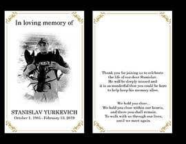 #18 for Design me a prayer card for a funeral af SamuelA314