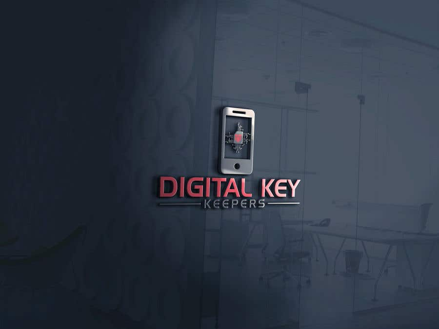 Kilpailutyö #229 kilpailussa Cutting edge logo for   Digital Key Keepers