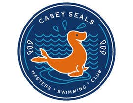 #36 untuk Refresh the logo of a masters swimming club -- 2 oleh AngelaPerezCalle