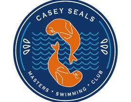 #37 for Refresh the logo of a masters swimming club -- 2 by AngelaPerezCalle
