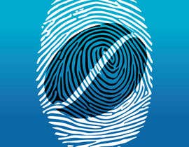 #40 untuk I want you to add the shape of coffee bean to the original fingerprint photo.. so I expect a curved line in the middle of the fingerprint . Please keep the multicolors as it is oleh shifatabir