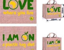 Nro 21 kilpailuun Two Hemp Shopping Bag Designs käyttäjältä gbeke