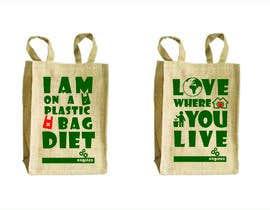 Nro 11 kilpailuun Two Hemp Shopping Bag Designs käyttäjältä studiodecor