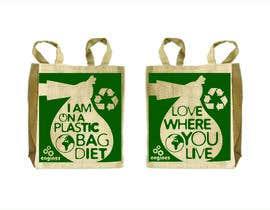 Nro 39 kilpailuun Two Hemp Shopping Bag Designs käyttäjältä studiodecor