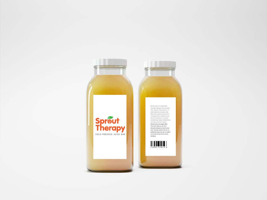 Contest Entry #143 for Juice Bar - Sprout Therapy