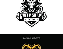 #327 for Sheep Shape Gym Logo by kyledeimmortal