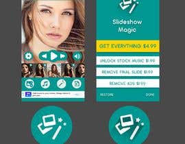 Nro 8 kilpailuun Redisign icon and a couple of screens for an app käyttäjältä HemaMaximDesign