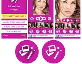 Nro 11 kilpailuun Redisign icon and a couple of screens for an app käyttäjältä HemaMaximDesign