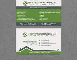 #135 for Business card for a handicap home modification construction company af sulaimanislamkha