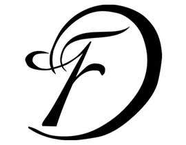 #24 para I need the letters FD combining into a visually stunning monogram. por K835