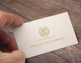 #17 para Logo Design for the Law Offices of William D. Chapman por kdmak