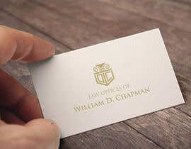 #19 para Logo Design for the Law Offices of William D. Chapman por kdmak