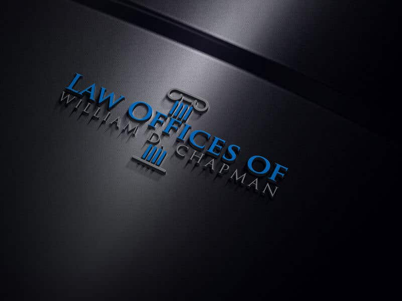 Konkurrenceindlæg #42 for Logo Design for the Law Offices of William D. Chapman