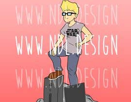 #9 for Cartoon Design by Noxity