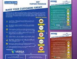 Nro 5 kilpailuun Create Product Brochure käyttäjältä IbtihajSheikh1