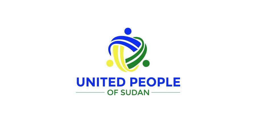 Kilpailutyö #82 kilpailussa LOGO FOR UNITED PEOPLE OF SUDAN