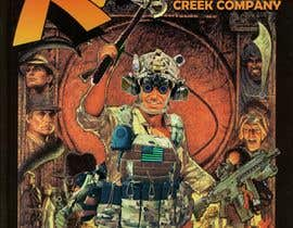 """#8 for Modify the movie poster attached. change where it says """"of the lost ark"""" into """"1st PLT, Creek Company"""". Put a rifle put into his left hand, hatchet in his right hand, A helmet on his head,a plate carrier put on over his shirt. Attached are photos to use by galibalfayed"""