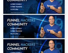 #35 for Facebook Group Cover Photo for Funnel Hackers Community by syedanooshxaidi9